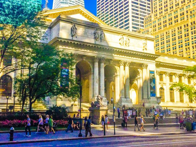 New York Public Library 2 days in new york itinerary for first time visitors