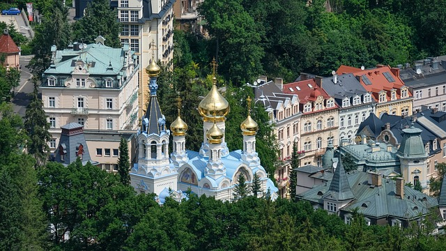 karlovy vary one of the fairytale towns in Europe