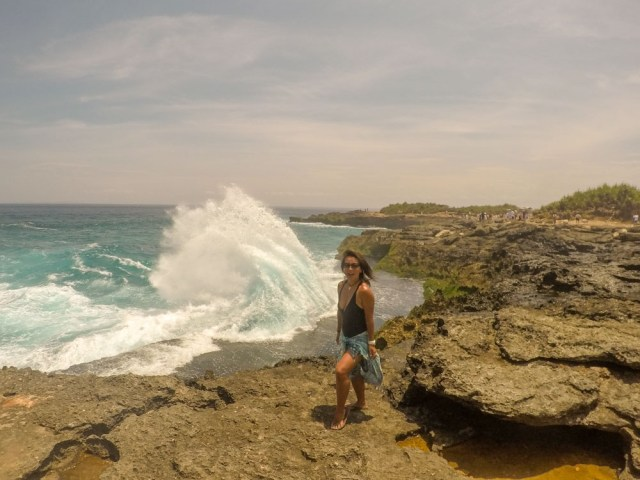 top places to visit in Nusa Lembongan Devil's Tear