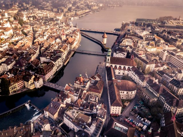 Lucerne is one of the most beautiful cities in Switzerland