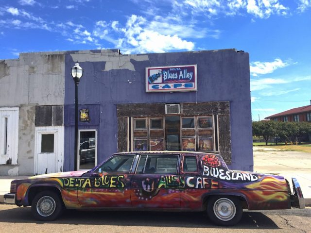 Clarksdale. Mississippi a stop on one of the best USA road trips
