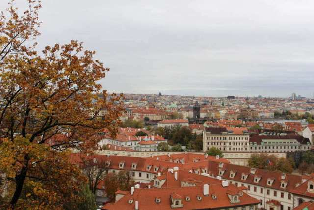 2 Days in Prague itinerary Castle View