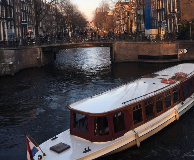 Canal Cruise 24 hours in Amsterdam