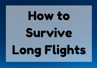 How to Survive a Long Flight: 10 Long Haul Flight Tips