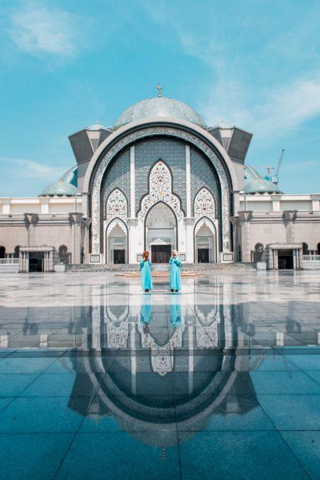Masjid Wilayah Mosque (Federal Territory Mosque) in Kuala Lumpur