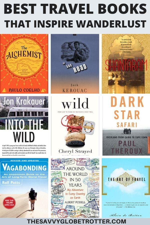 Best Travel Books That Inspire Wanderlust
