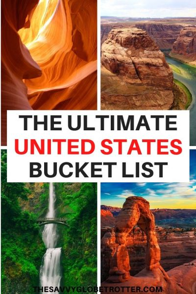 Best USA Travel Bucket List Destinations