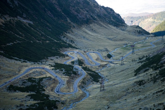 Trasfagarasan Highway Romania