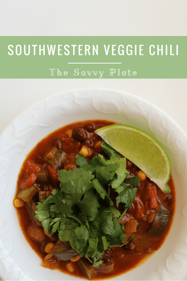 Perfect for parties or weeknight dinners, this healthy, vegetable-packed chili is quick and easy, coming together in just under an hour.