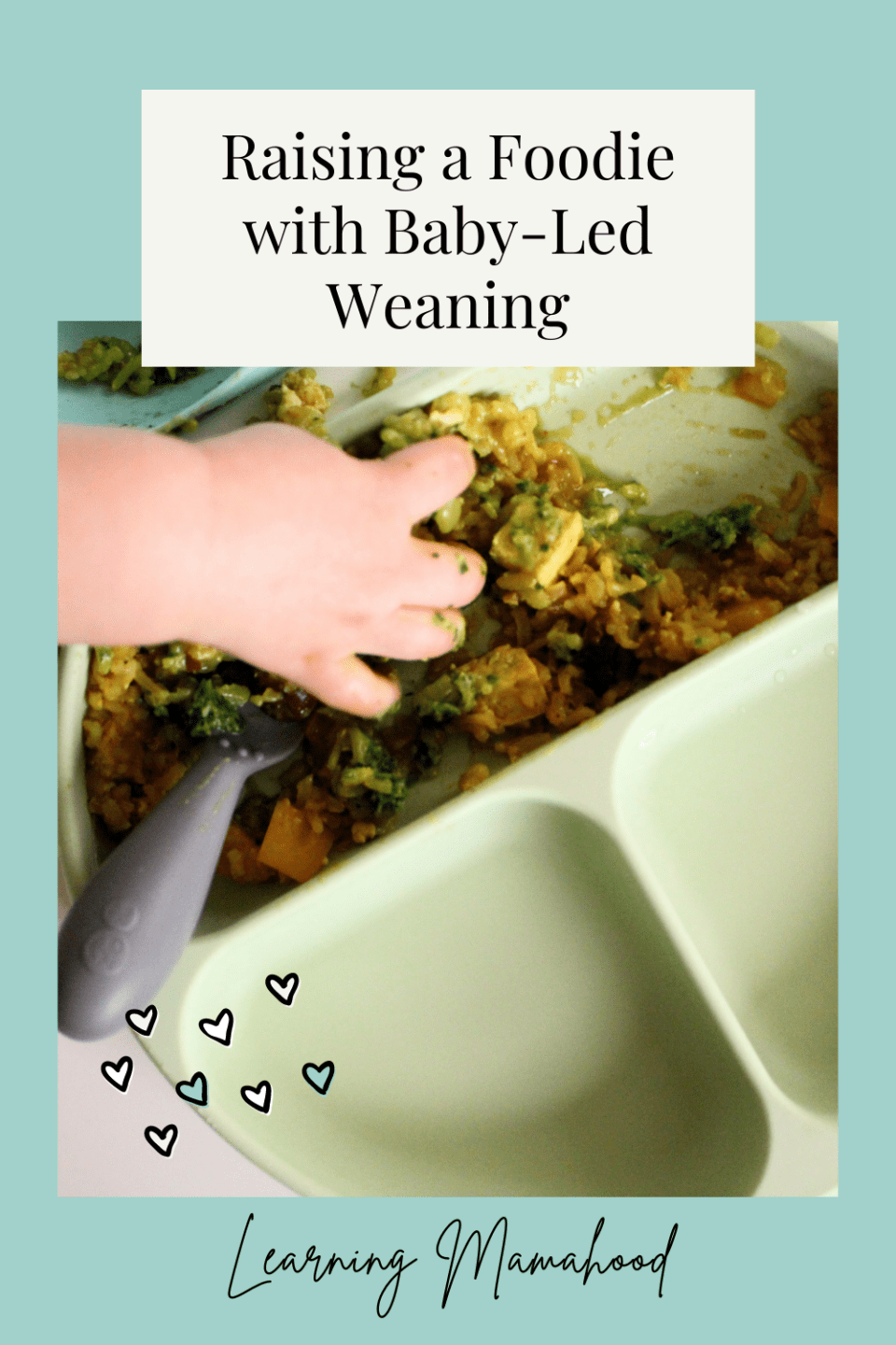 Raising a Foodie with Baby-Led Weaning - Learning Mamahood (pin)