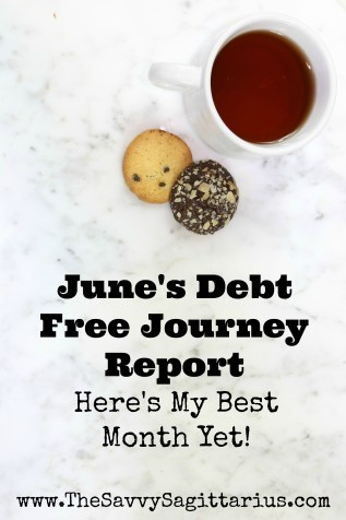I have been on my debt free journey for six months now! June was month six and I KILLED it! I am so excited for the progress that has been made since I have started this journey! Check out my monthly report to find out how much I have paid off since day one!