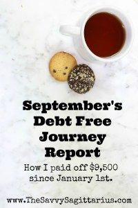 September was a good month for me! I met my goal of $1,200! September was good, but October will be even better!