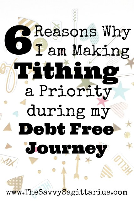 Tithing has been on my heart a ton lately. I have always given to the church for as long as I have been going, but I never put a lot of thought into how much I was giving. Read about the events that led to this decision and why it is now in my budget to give more.