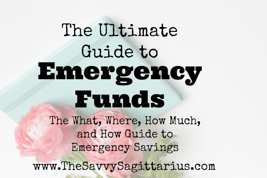"Pretty much everyone knows that they need an ""emergency fund,"" but where do you even start? Here is the what, where, how much, and how to emergency savings!"