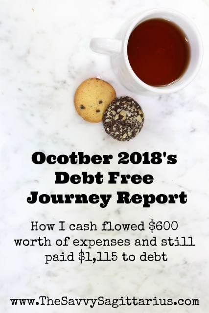 October held all kinds of surprises for me, but it was still overall a good month! Find out how I had $600 worth of unexpected expenses and still put over $1,115 towards my last student loan!