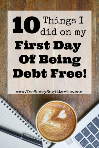 After working on paying off my debt for over 26 months, I am finally debt free! Check out how I spent my very first full day of being debt free! I bet it isn't what you would expect or maybe it is exactly what you expect?