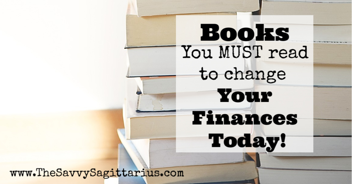 Reading has always been a HUGE part of my life. During my debt free journey, it is one thing that has kept me motivated and taught me a lot that I didn't know about finances. Here are a list of just a few of my favorite books!