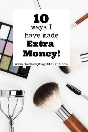 Making some extra money on the side is a great way to help hit your goals faster! While paying off debt, I did everything. Here is 10 ways I have made extra money.
