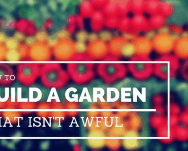 Build a raised garden