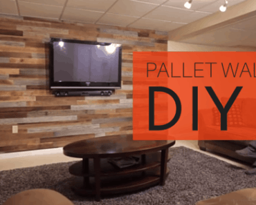 DIY Pallet Wall Tutorial