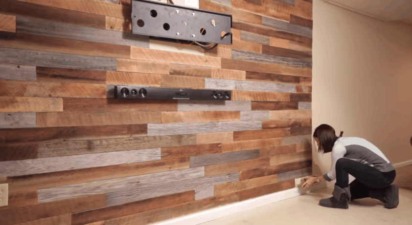 How To Make A Diy Accent Wall Using Pallets