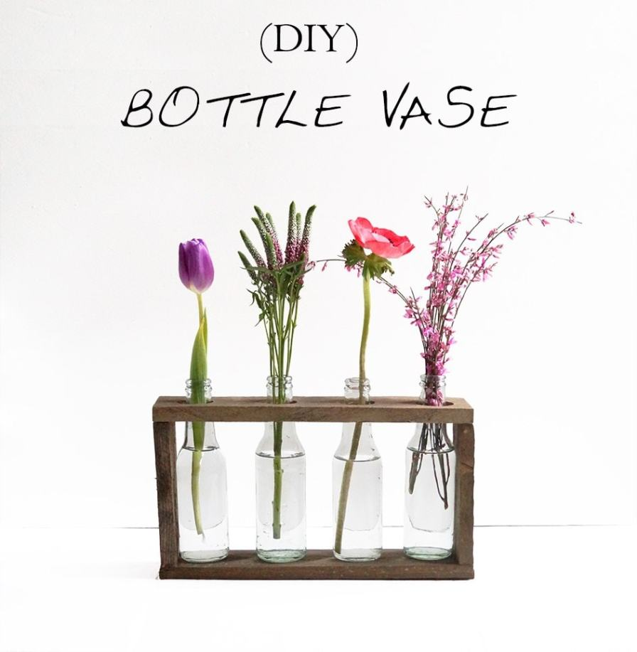 DIY Bottle Vase