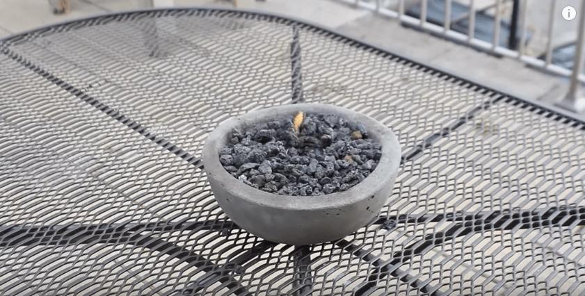 DIY Gel Fire Pit