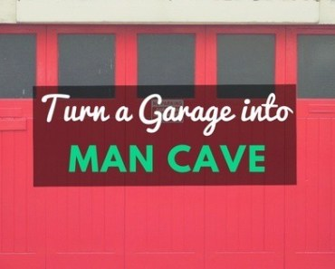 Turn Garage Into Man Cave