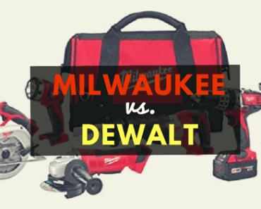 milwaukee vs dewalt