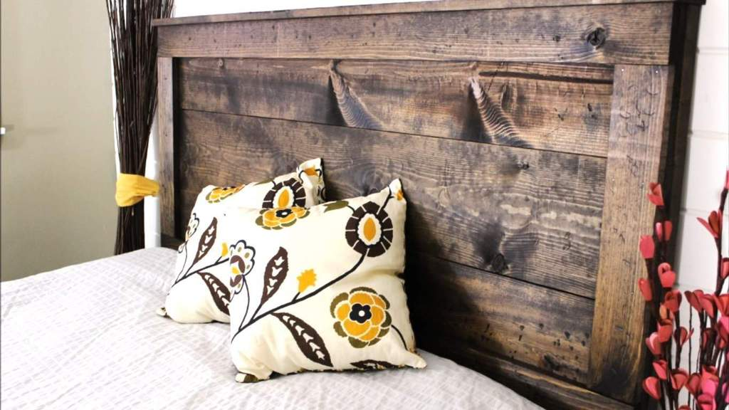 How To Make A Charming Rustic Headboard For Only 20 The Saw Guy