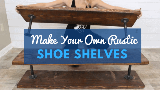 Make portable shoe shelves