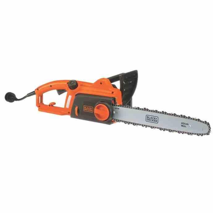 Black + Decker CS1216 16-inch Corded Chainsaw