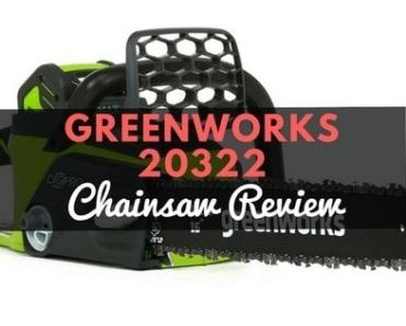 GreenWorks 20322 Chainsaw