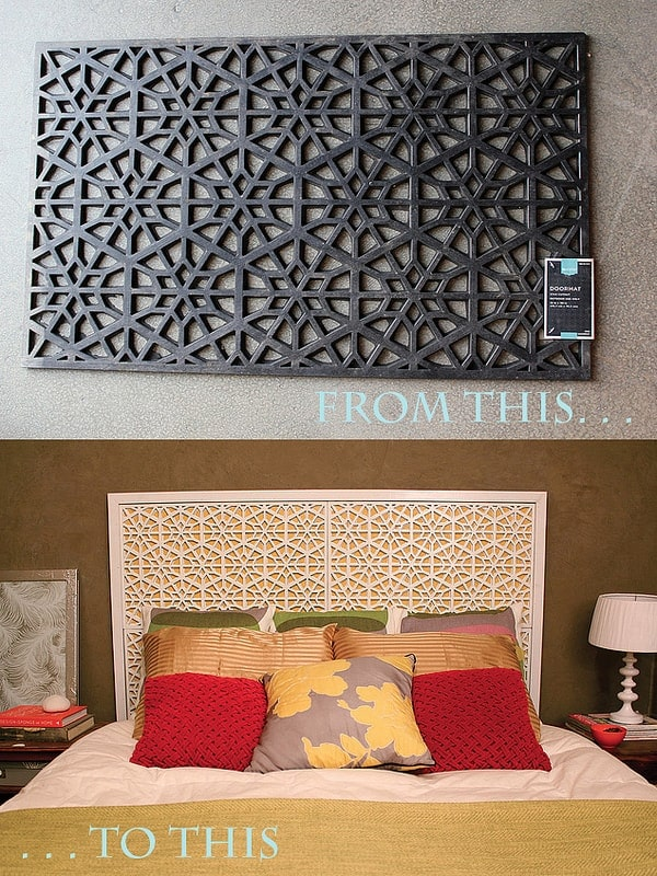 Creative Headboard Ideas Part - 44: Rubber Mat Headboard