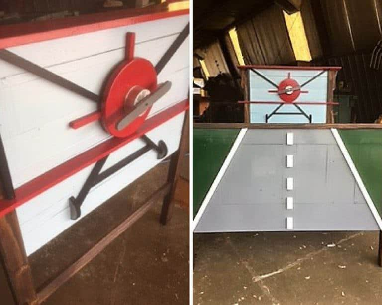 Airplane Pallet Bed for Kids