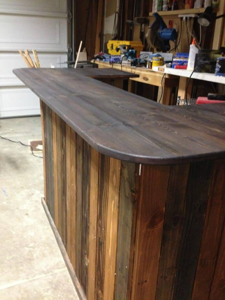 Stylish Stained Bar