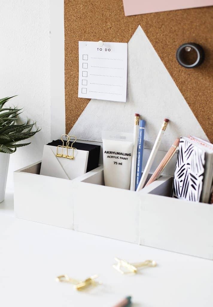 Simple Desk Top Organizer