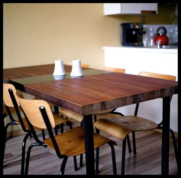 Beautiful Reclaimed Door Dining Table