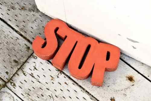 Make Your Own Door Stop with Concrete
