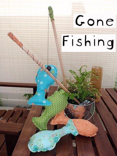 . DIY Magnetic Fishing Game