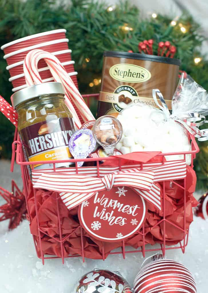 Hot Chocolate Themed Gift Basket