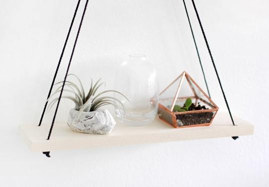 . Hanging Shelves