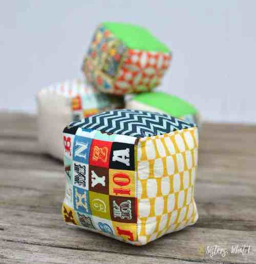 Toddler Soft Cubes