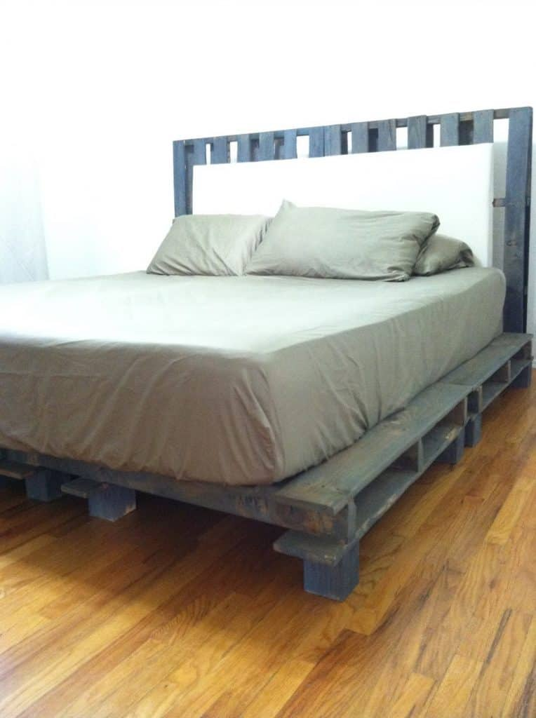 Platform Bed with Headboard