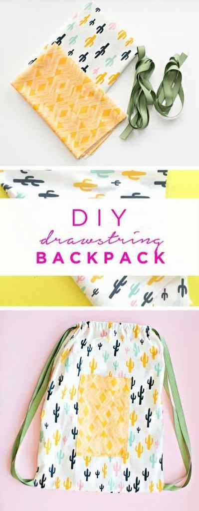 Quick and Easy Drawstring Bags