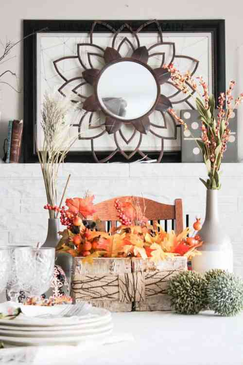 Rustic Fall Piece