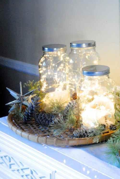 Mason Jar Twinkle Lights