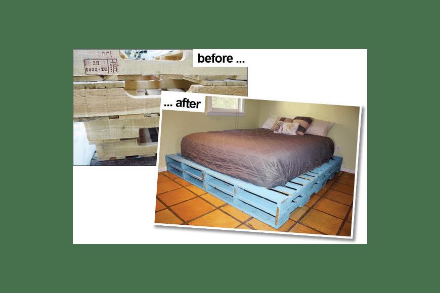 Basic Pallet Bed