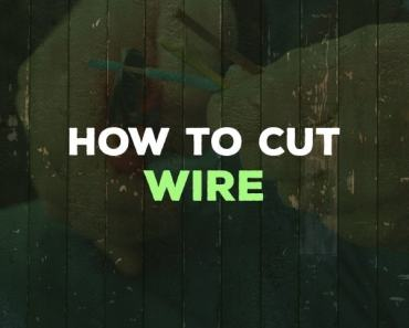 how to cut wire