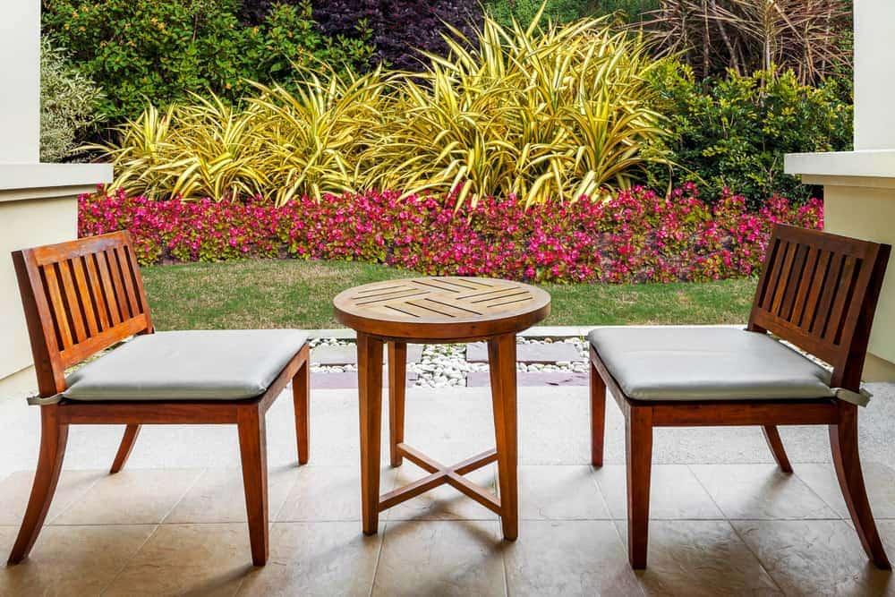 modern geometric seating